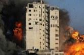 Israel Hancurkan Gedung di Gaza, Kantor Sejumlah Media