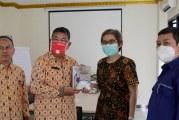 FOTO Kunjungan Silaturahmi Asisten 2 Pemkot Prabumulih ke Kantor OMG