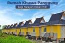 Kementerian PUPR Bangun Rumah Panggung untuk Nelayan di Kampung Pinggir Laut