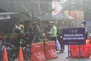 FOTO Suasana Penyekatan PPKM Darurat di Jalan Daan Mogot, Jakarta Barat