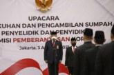 KPK Kukuhkan 150 Orang Penyelidik dan Penyidik