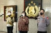 Cegah Karhutla, Menteri LHK Apresiasi Polri Atas Peluncuran Aplikasi ASAP Digital Nasional