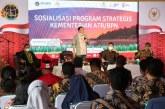 Sosialisasi Program Strategis ATR/BPN di Konawe Utara, Komisi II DPR RI Ajak Masyarakat Mengikuti Program PTSL