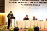 Dukung Pembangunan di Sumsel, Kementerian ATR/BPN Sosialisasikan PP Turunan UU Cipta Kerja