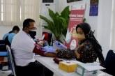 Sambut HUT ke-76, PT KAI Gelar Donor Darah di Stasiun Pasar Senen