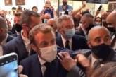 Dulu Ditampar, Kini Presiden Perancis Dilempari Telur Saat Kunjungan