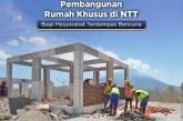 Kementerian PUPR Percepat Pembangunan Huntap di NTT