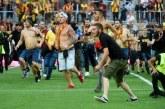 Bentrok! Suporter Liga 1 Perancis Tawuran Lagi