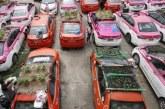 Sepi Saat Pandemi, Taksi-taksi di Bangkok Dipakai untuk Bertani