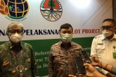 Program Percepatan Redistribusi Tanah Kerja Sama BPN dan KLH Pecah Telur